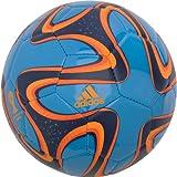 51NstD7DSlL. SL160  Adidas Brazuca World Cup Glider Soccer Ball Size 4 (Blue)