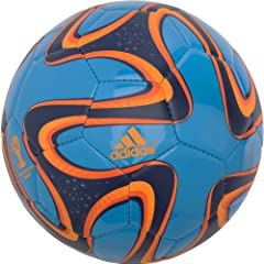 Buy Adidas Brazuca World Cup Soccer Ball Size 3(Blue) by adidas