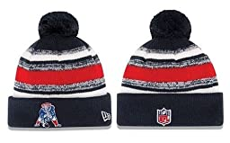 2014 NEW ENGLAND PATRIOTS TEAM SIDELINE BEANIE ON FIELD KNIT HAT CAP by New Era