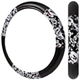 Mickey Mouse Classic Expressions Faces Car Truck SUV Steering Wheel Cover
