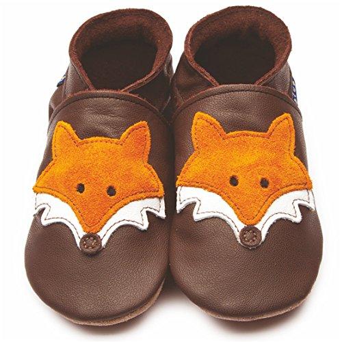 inch-blue-girls-boys-luxury-leather-soft-sole-pram-shoes-mr-fox-chocolate