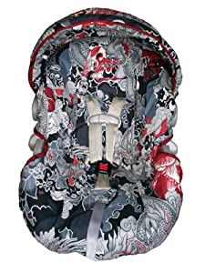 Babble Chic Infant Car Seat Cover - Puff
