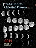 img - for Janet's Plan-its Celestial Planner 2014 Astrology Calendar ebook book / textbook / text book