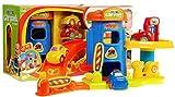 16643 Parque Garaje - Aparcamiento - Garaje Playset - garaje - aparcamiento juguete - Aparcamiento Park House Playset - 3 coches y un ascensor
