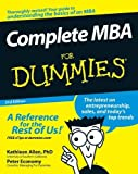 By Kathleen Allen PhD Complete MBA For Dummies (2nd Edition)