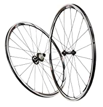 Control Tech Cetus Tubular Shimano Alloy Road Bike Wheel, Black/White