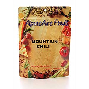 Meatless Entrees Serve 2 - Mountain Chili by Alpine