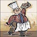 The Tile Mural Store - Service With A Smile III by Joy Alldredge - Kitchen Backsplash / Bathroom wall Tile Mural