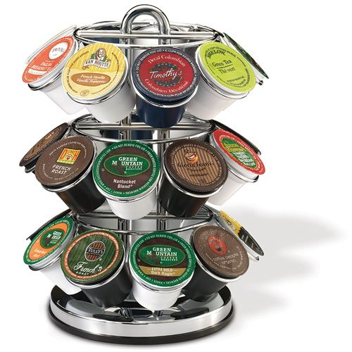 Keurig 5060 K-Cup Carousel, Chrome (Keurig Coffee Carousel compare prices)