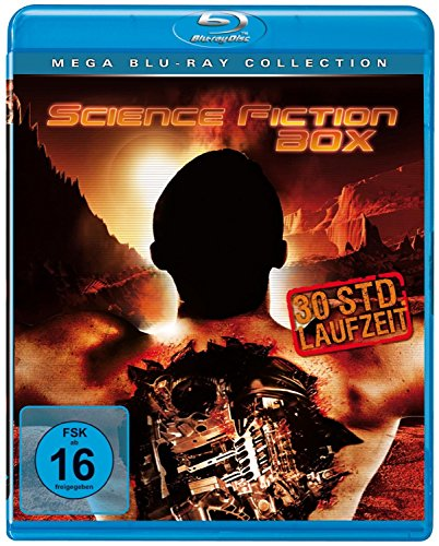 SCIENCE FICTION BOX (mit 30 Stunden Laufzeit) - Mega Blu-Ray Collection