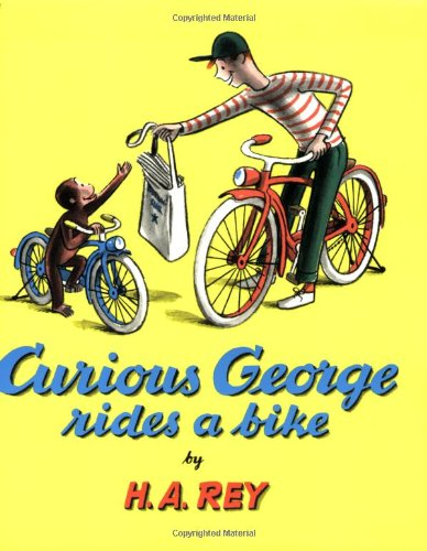 Curious George Rides A Bike (Read Along Book & Cd) front-1035168