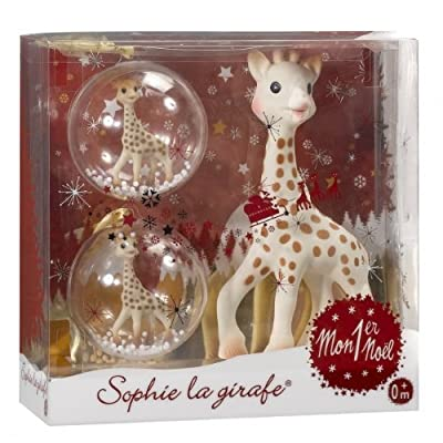 Sophie the Giraffe christmas ornament with teether