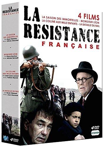 Coffret De La Resistance Francaise : La Saison Des Immortelles + Monsieur Leon + La Colline Aux Mille Enfants + La Bataille Du Rail
