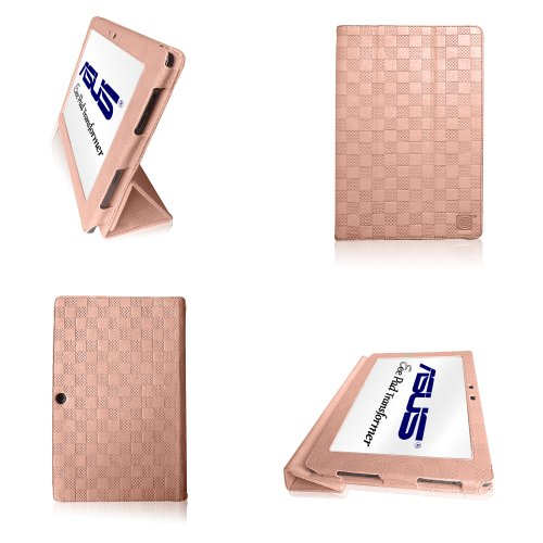 Learn More About Skinny® Folio Case & Cover | Pink Hearts | for Asus Eee Pad Transformer TF101 10.1...
