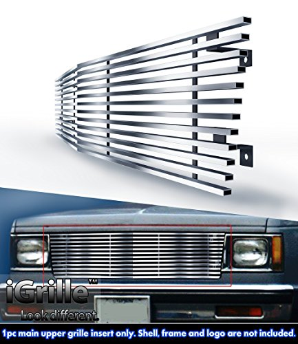 Fits 82-90 Chevy S-10 Pickup/Blazer/S-15/Jimmy Stainless T304 Billet Grille Grill #N19-C40058C (S 10 Grill compare prices)