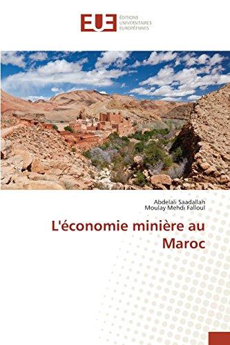 L'économie minière au Maroc