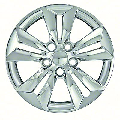 2006 - 2014 Hyundai Sonata 16 Inch Silver Metallic Bolt-on Hubcaps Wheel Covers