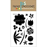 Paper Smooches Clear Stamps, 4 by 6-Inch, Bold Blooms