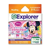 LeapFrog Disney Minnie's Bow-tique Super Surprise Party Learning Game (Works with LeapPad Tablets, and Leapster Explorer) by LeapFrog