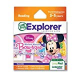 LeapFrog Explorer Learning Game Disney Minnie's Bow-tique Super Surprise Party