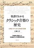 楽譜でわかる クラシック音楽の歴史: 古典派・ロマン派・20世紀の音楽