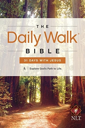 The Daily Walk Bible NLT: 31 Days with Jesus (Daily Walk: eBook) (Free Joyce Meyer Kindle Books compare prices)