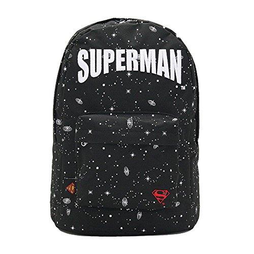 リュック リュックサック デイパック SUPERMAN スーパーマン コスモ アメコミ メンズ レディース DCB-018 gm-037 (ブラックコスモ)