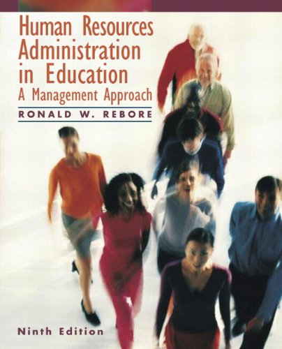 Human Resources Administration in Education: A Management...