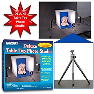 Deluxe Tabletop Lighted Photo Studio by Trademark Poker