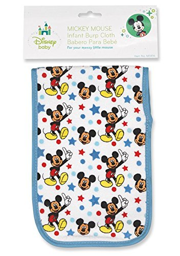 Mickey Mouse Burp Cloth - 1