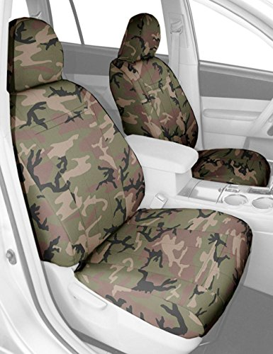 CalTrend Front Captain Chairs Custom Fit Seat Cover for Select Hummer H2 Models - Camouflage (Retro) (Hummer H2 Caltrend compare prices)