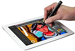 Navitech Black Fine Point Digital Active Stylus Pen Compatible With iPad Air 2 / Apple iPad Air / Apple iPad mini 3 / Apple iPad mini 2