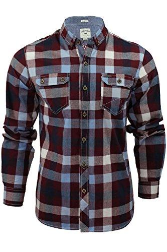 chemise-pour-homme-hadleighf-a-carreaux-et-manches-longues-de-lee-cooper-truffe-s