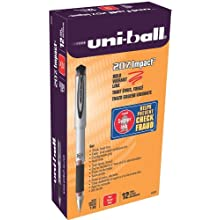 207 Impact Stick Rollerball Gel Pen, Bold Point, Red Ink, Pack of 12