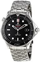Omega Men's 212.30.41.20.01.003 Seamaster Black Dial Watch by Omega