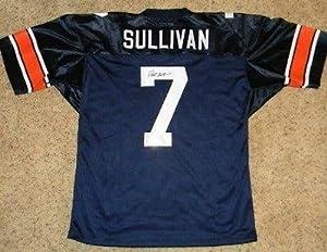 Pat Sullivan Autographed Jersey - #7 Gtsm - Autographed College Jerseys