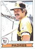1979 Topps # 456 Chuck Baker San Diego Padres Baseball Card
