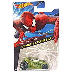 Hot wheels amazing spider man 2 diecast car the lizard amazon co uk