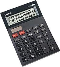Comprar Canon 4582B001AB - Calculadora sobremesa AS-120, 12 dígitos, color gris