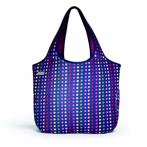 Built Neoprene Essential Tote Bag, Dot Number 9 front-346192