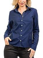 Signore Dei Mari Camisa Mujer Emilia (Azul Marino)