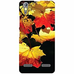 Lenovo A6000 - Yellow & Red Matte Finish Phone Cover