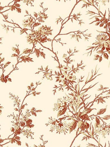 Wallpaper Blonder Sunday Morning Floral toile SM21556