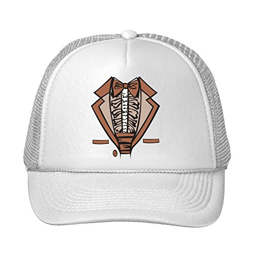 New Fashion Brown Tuxedo Costume Summer Cap Snapback Hats Adjustable Hat Cotton Men's/women's Kelvigibbs