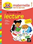 Lecture Petite Section (3/4 ans)