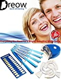 PROFESSIONAL TEETH WHITENING KIT D00T22 By Dreow Home Bleaching System of Low Sensitivity Carbamide Peroxide Gel Free Remineralizing Syringe Enhance Your Smile Now 100% Guarantee, Great Gift Idea