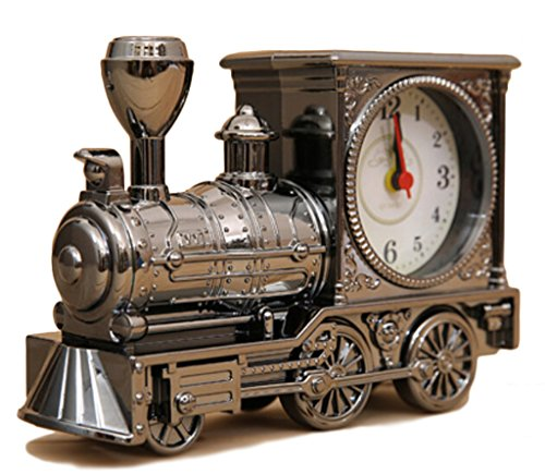 Ainyclocks Creative Gifts Of Archaize Locomotive Alarm Clock Fashion Furnishing Articles