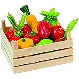 Goki - 2040774 - Jeu D'imitation - Commerçant - Fruits Et Légumes - Caisse