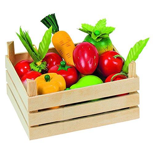 Goki Frutta E Verdura In Scatola Di Legno