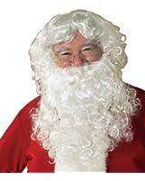 Rubie's Costume Value Santa Beard And Wig Set
